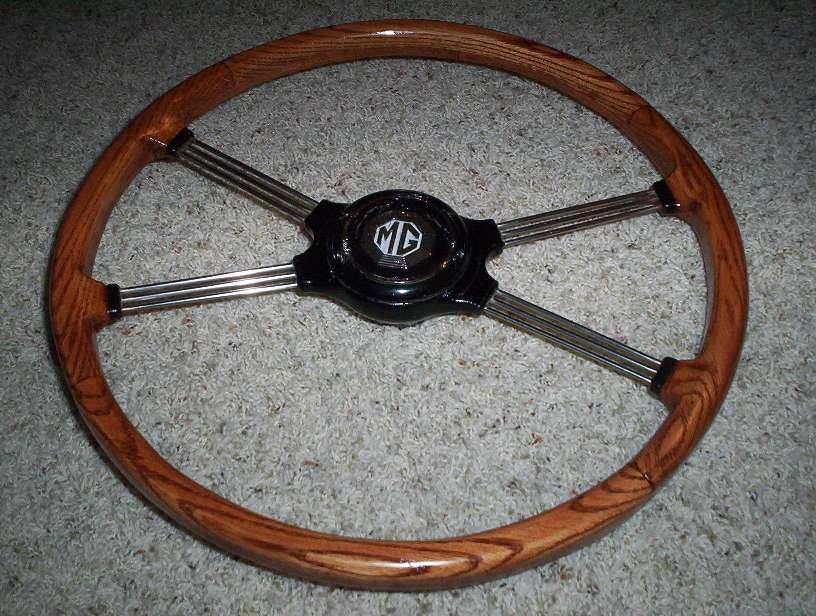 Wood Rim Steering Wheel Make One Yourself
