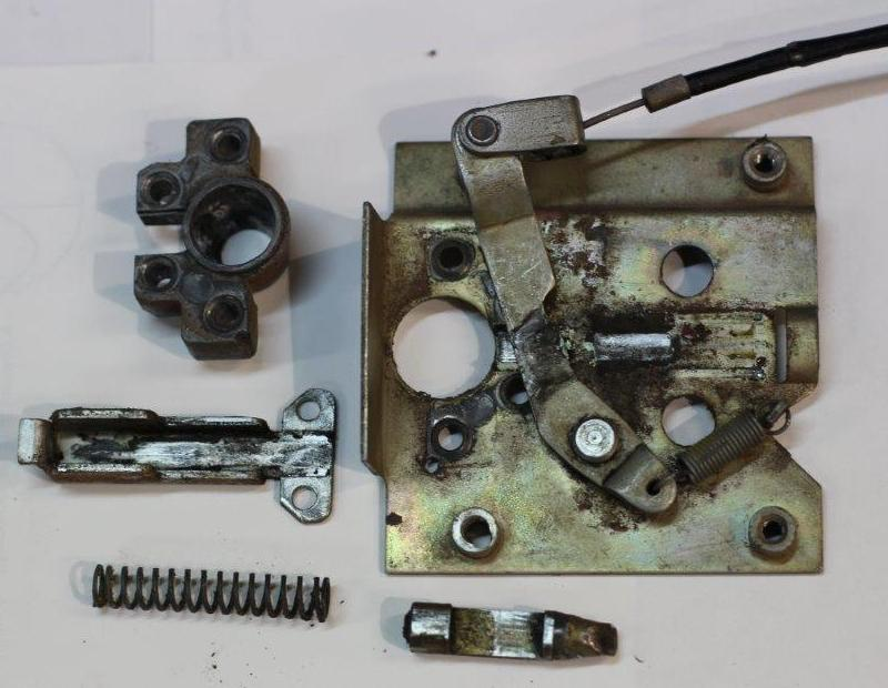 door latch spring repair 2