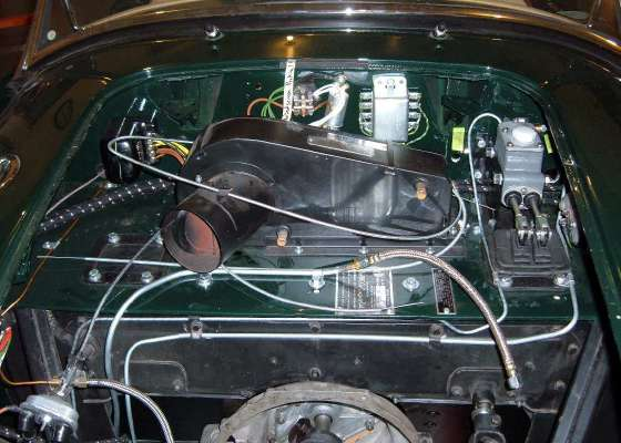 Mgb Brake Line Routing : Copper oil pressure line routing mga forum mg