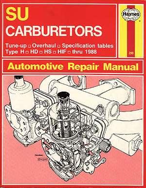 books for your mga other service and tech books rh mgaguru com Su Carburetor Adjustment Su Carburetor Diagram