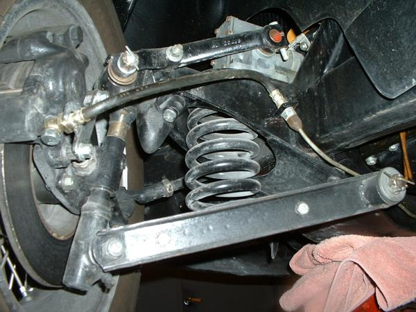 Mgb Brake Line Routing : Brake line routing mga forum mg experience forums