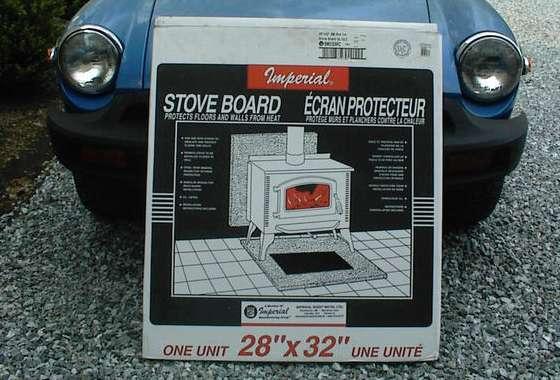 Carburetor heat shield (4)