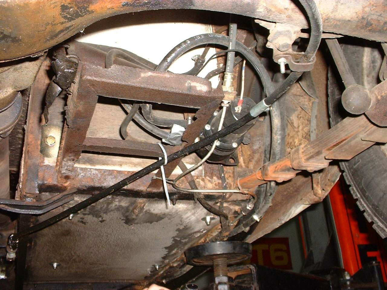 Mgb Brake Line Routing : Comedy of errors do not this