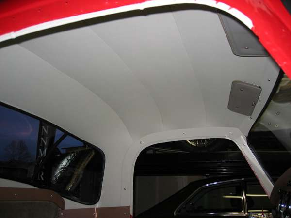 Sun roof for the mga coupe for Space headliner