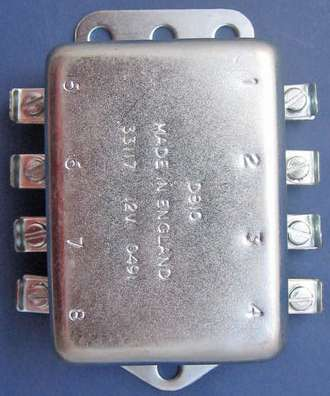 turn signal relay mga  ts relay cover removed ts relay cover removed