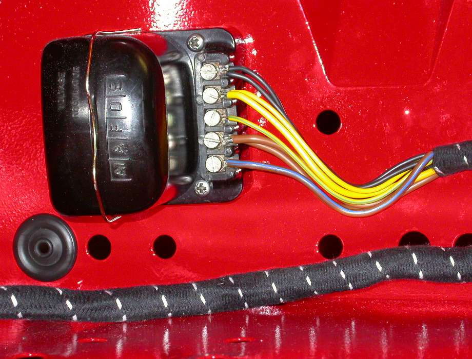 Harness on Starter Generator Wiring