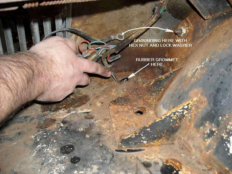 Mga Wiring Harness Installation