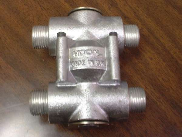 Engine OIL COOLER, Thermostatic Bypass Valve #1