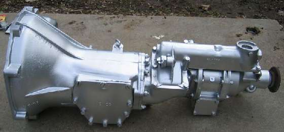 MGB D-Type overdrive gearbox