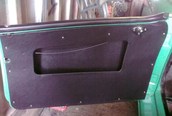 Door pocket assembly Door pocket assembly Door pocket assembly & DOOR PANELS And POCKETS Fabicating