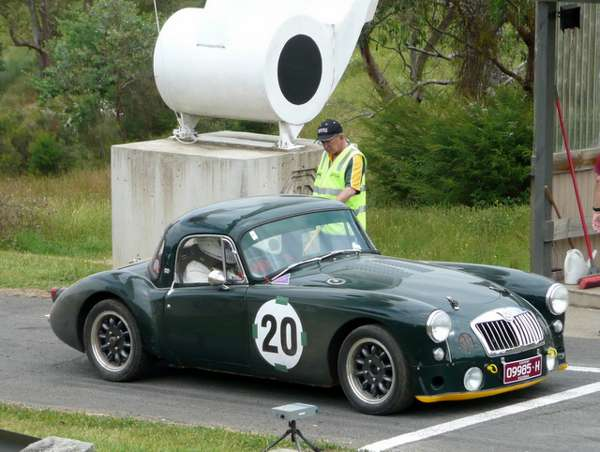 British racing green for mga than most british racing greens you usually see it was painted two owners ago so paint codes are lost but the story is that this was a 1980s era sciox Choice Image