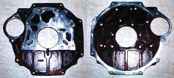 MG Tech - REAR PLATES for MGA B-Series Engines