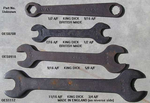 King Dick Spanners
