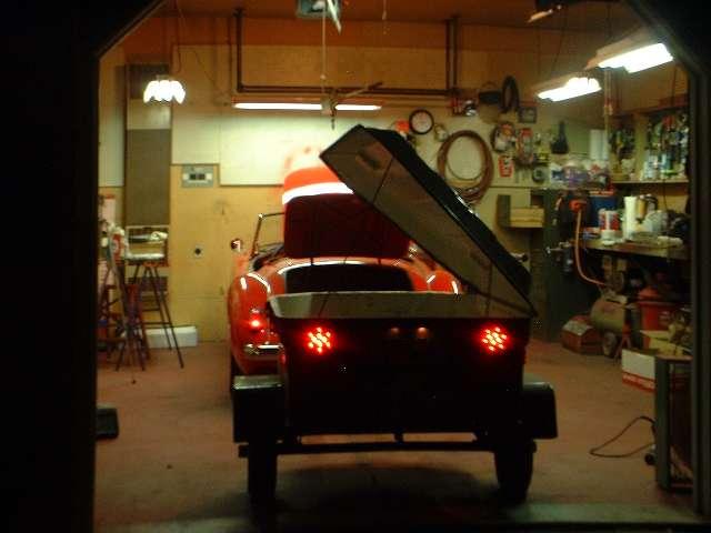 Trailer tail lights