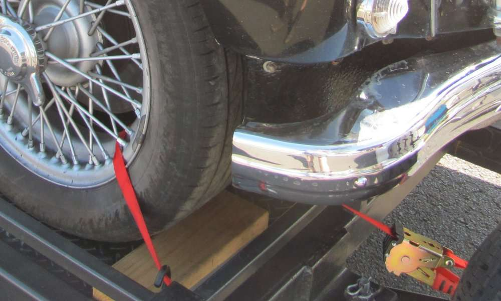 Car Trailer Hitch >> Trailer to CARRY YOUR MG, #1, with electric brakes