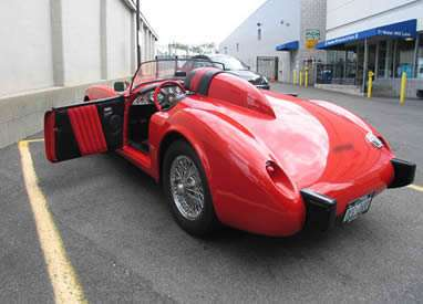 Special Bodies On MGA Cars Ferrari Testarossa Kit Car