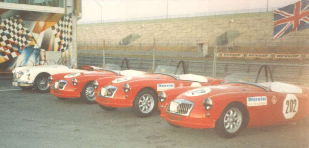Used Cars Greenville Sc >> Alternate wheels for the MGA, Minilite Style