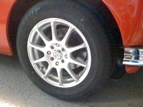 Alternate Wheels For The Mga Maxxim 10 Spoke Alloy 15x6