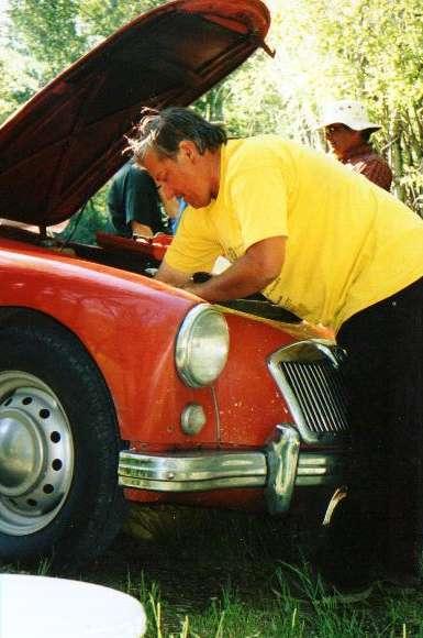 New Dash Knob Set MG MGA 1955-1962 Made in UK