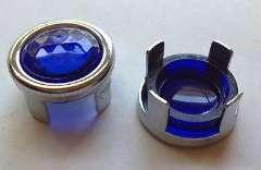 NEW! BLUE DOT JEWEL LENS INSERT