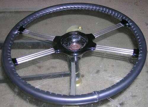 Steering Wheel Wrap Leather Or Vinyl