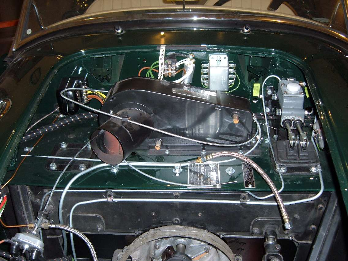 mgb wiring harness routing plumbing layout in the engine bay  plumbing layout in the engine bay