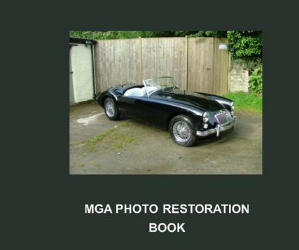 Original Mg Mga Book Restoration Guide 1500 Clausager New Hardcover Twin Cam Mg