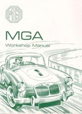 MG MGA Drivers Handbook Operation Maintenance Manual Service ...