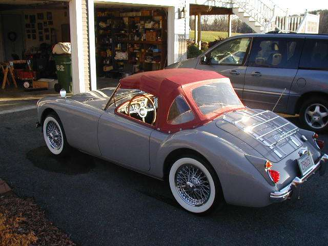 Factory Colors Mga 1600 And Twin Cam Roadster
