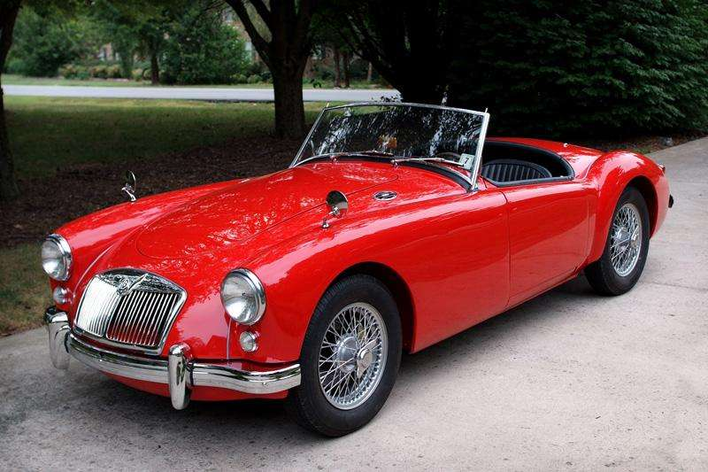 Car Paint Colors >> Factory Colors, MGA 1500 and Twin Cam Roadster