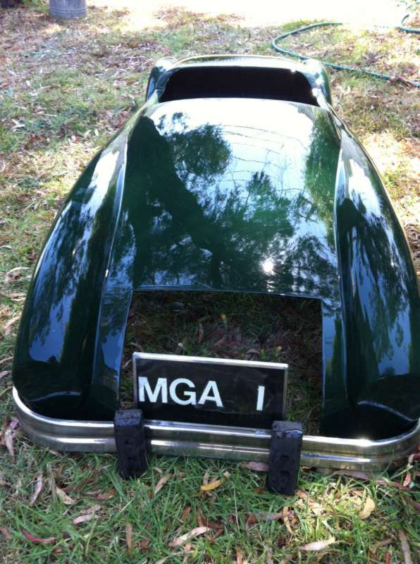 MGA regalia - Fiberglass 1/2 Scale Body Shell