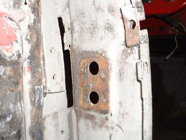 Body Sill Replacement, Anatomy of a B-post repair