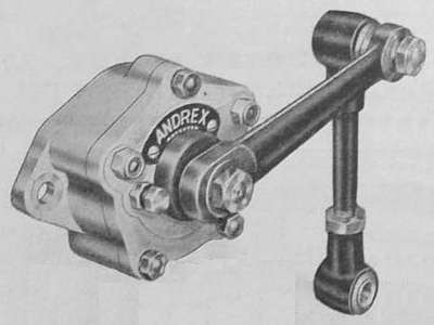 Andrex friction shock absorbers