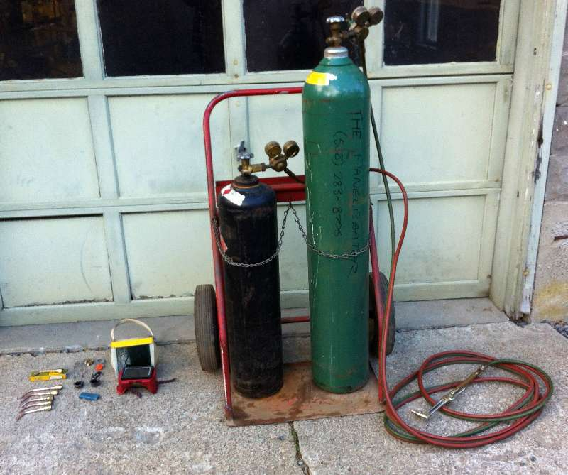 Tools Oxy Acetylene Torch Gas Welder