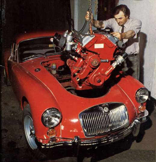 INSTALLING the Twin Cam Engine