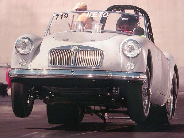 Modified MGA cars - Dragsters