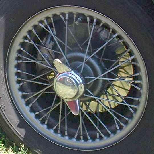 Paint Job Cost >> Wheel tech - MGA wheel types