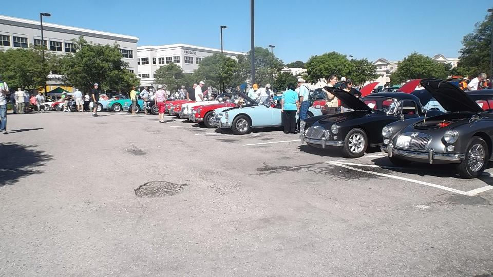 Raleigh Car Show >> Mga Guru Is Going Mobile Triangle British Car Show