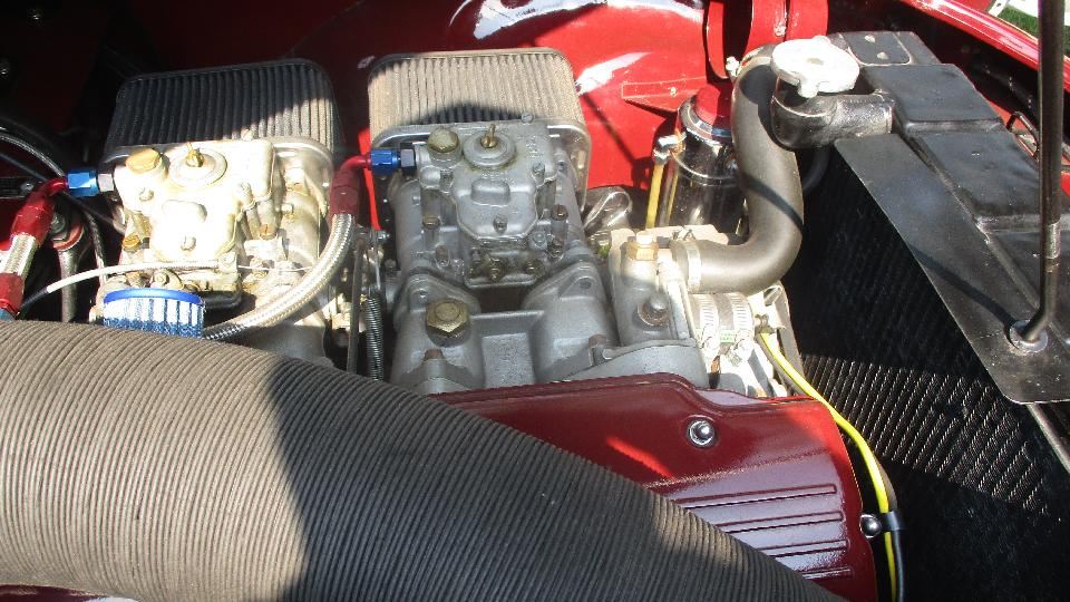 Bmw Engine Conversion In Mga   2